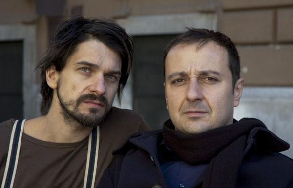 A két szereplő: Kovács Krisztián és Katona László (Fotó: Böjte Ágnes)