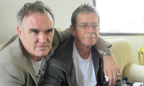Morrissey és Lou Reed