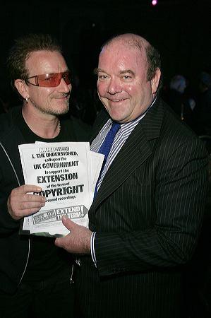 Bono és McGuinness (Fotó: u2station.com)