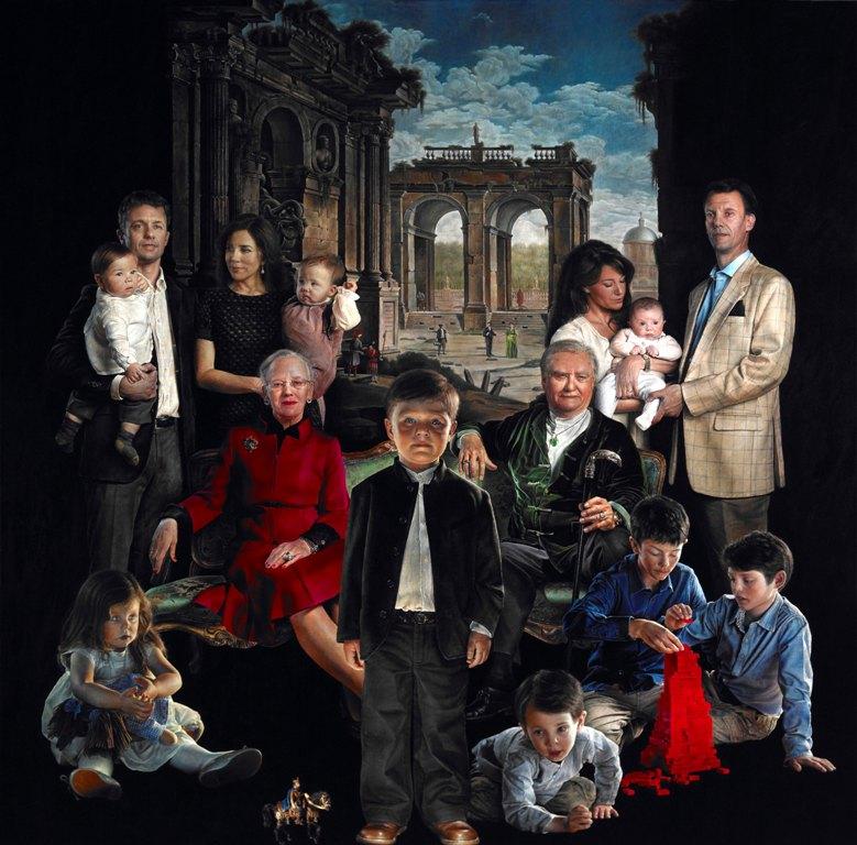 Thomas Kluge portréja (Forrás: kongehuset.dk)