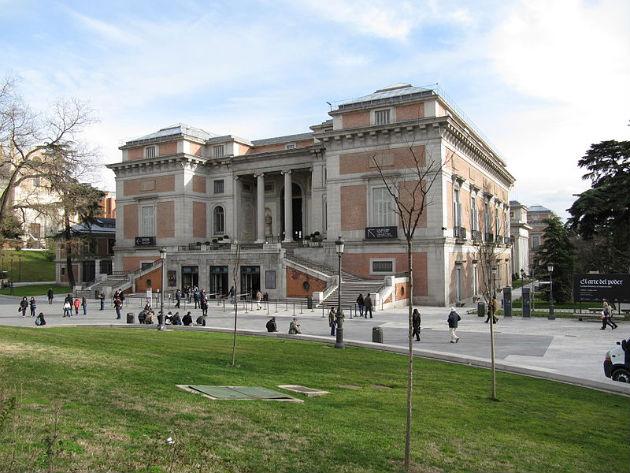 A Prado épülete Madridban (Fotó: commons.wikimedia.org)