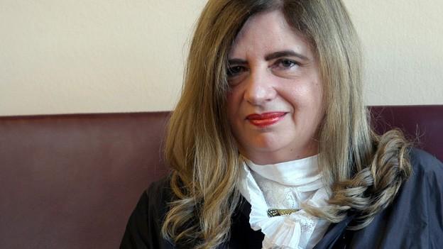 Sybille Lewitscharoff (Fotó: www.srf.ch)