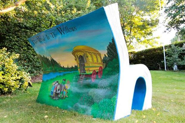 Kenneth Grahame: Wind in the Willows - Mik Richardson műve (Fotó: marketingmagazine.co.uk)