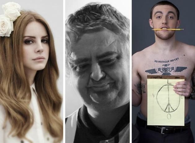 Lana Del Rey, Daniel Johnston és Mac Miller (Fotó: phantom.ie)