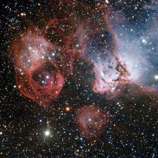 NGC 2035 a Nagy Magellán-felhőben (Fotó: Hirado.hu/ESO)