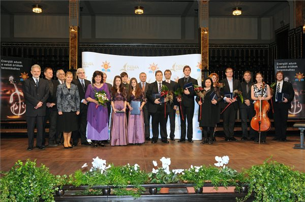 A JUnior Prima Díj ünnepélyes átadása (MTI Fotó: Honéczy Barnabás)