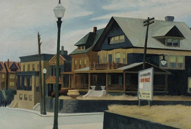 Edward Hopper: East Wind Over Weehawken
