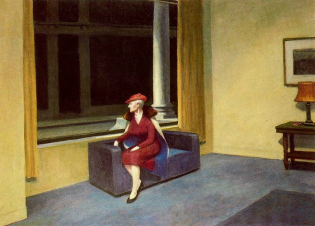 Edward Hopper: Hotel Window