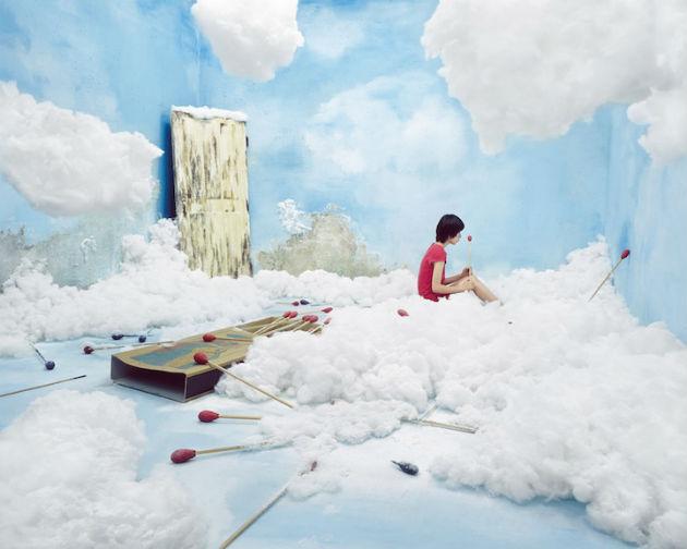 A kis gyufaáruslány (Fotó: mymodernmet.com/ Jee Young Lee)