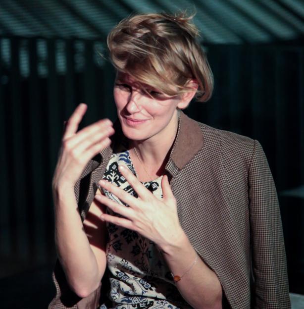 Laure Prouvost (Fotó: whitechapelgallery.org)