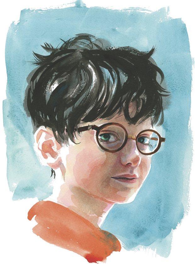 Jim Kay: Harry Potter (Forrás: theguardian.com)