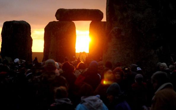 Téli napforduló a Stonehenge-nél (Fotó: archaeology.about.com)