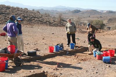 Ásatás a ciprusi helyszínen (Fotó: archaeologynewsnetwork.blogspot.hu)