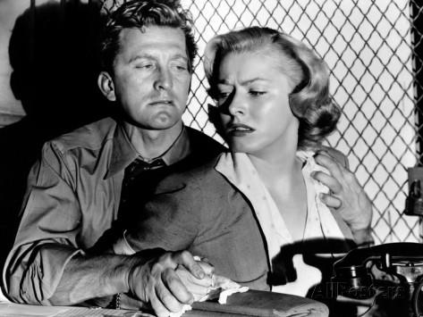 Kirk Douglas és Eleanor Parker az 1951-es Detective Storyban