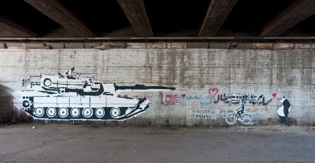 Tank vs. bicikli