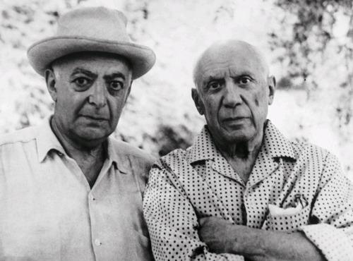 Brassai (Halász Gyula) és Picasso