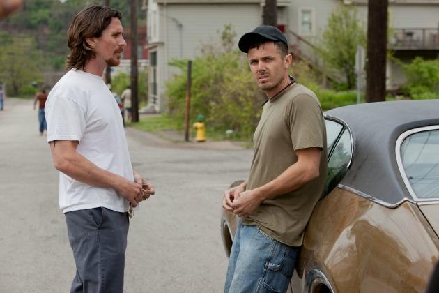Christian Bale és Casey Affleck