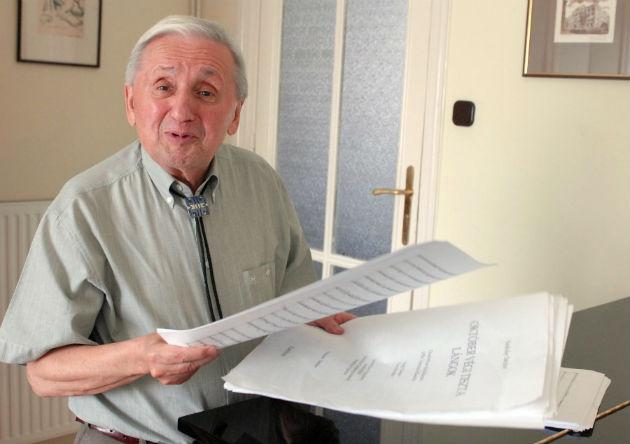 Szokolay Sándor 2008-ban (Fotó: hirado.hu/MTI/Czimbal Gyula)