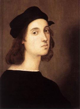 Raffaello önarckép