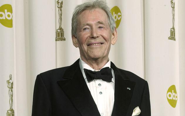 Peter O'Toole a 2003-as Oscar-díj átadón (Fotó: parade.com)