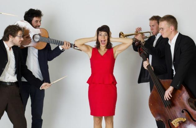 Pátkai Rozina Quintet (Fotó: koncert.hu)