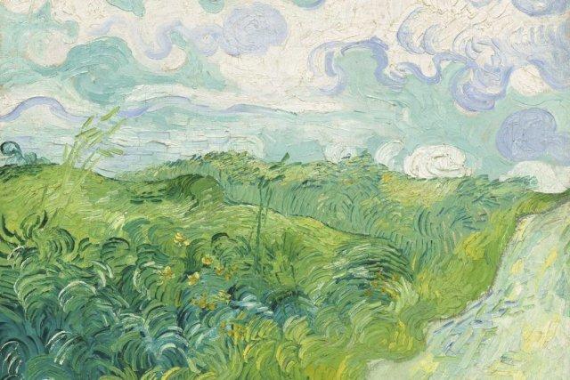 Vincent Van Gogh: Champ de blé vert, Auvers