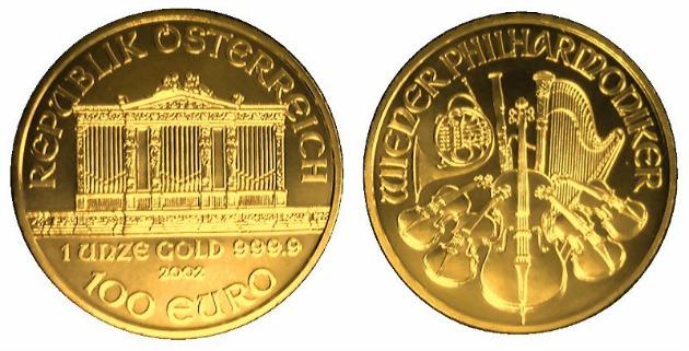 A Bécsi Filharmonikusok aranyérméje (Fotó: en.wikipedia.org)