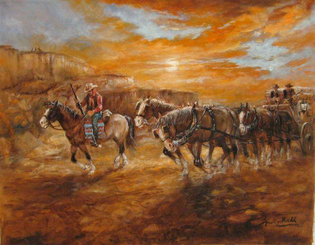 Makk Imre (Americo): To The West