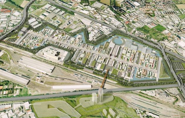 A 2015-ös milánói Expo tervei (Fotó: sfp2015.org)