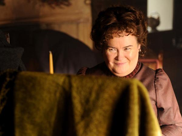 Susan Boyle A karácsonyi gyertya című filmben (Fotó: philly.com)