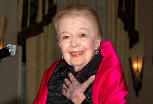 Eggerth Márta 100 évesen (Fotó: budaorsiinfo.hu)