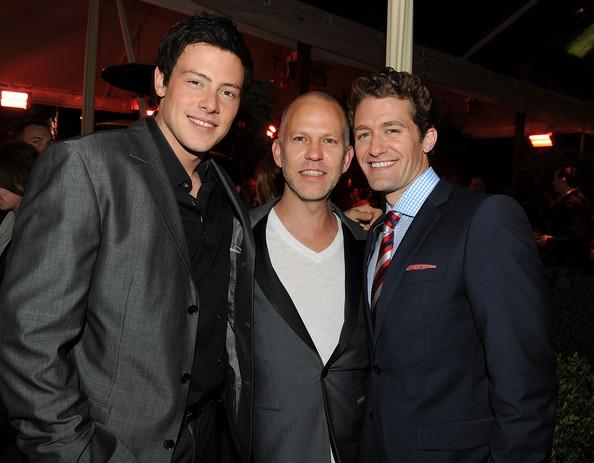 Cory Monteith, Ryan Murphy és Matthew Morrison (Fotó: zimbio.com)