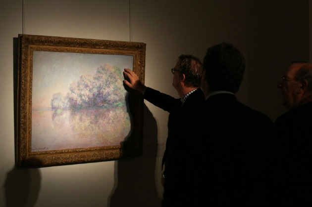 Monet aukción (Fotó: huffingtonpost.com)