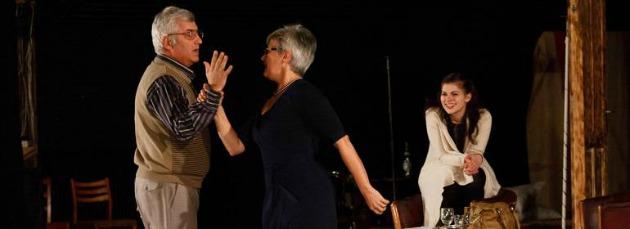 A Hogyne, drágám! színpadi próbája (Fotó: nemzetiszinhaz.ro)
