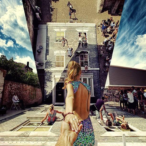 Leandro Erlich installációja London keleti részén
