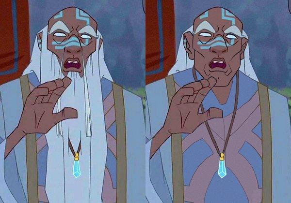 Kashekim Nedakh király (Atlantisz: Az elveszett birodalom)