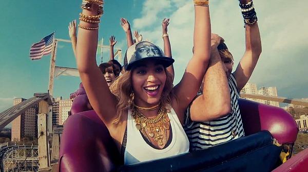 Beyoncé a Xo klipjében (Fotó: untitledflow.com)