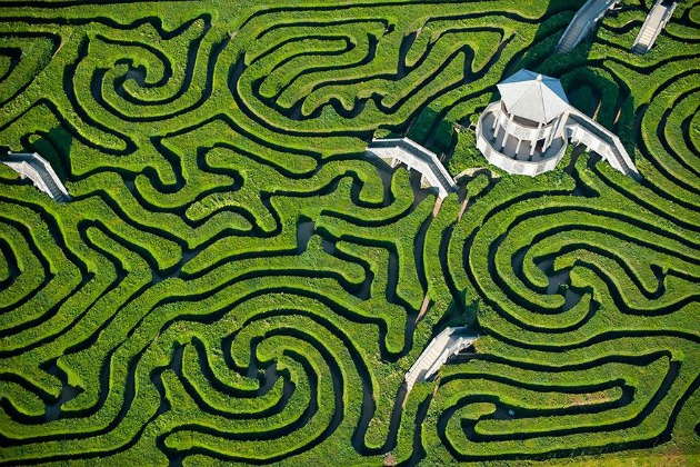Longleat labirintus, Anglia (Fotó: archive.4plebs.org)