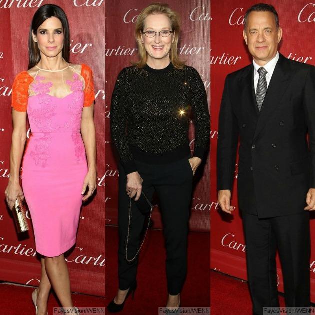 Sandra Bullock, Meryl Streep, Tom Hanks a Palm Springs-i Filmfesztiválon (Fotó: aceshowbiz.com)