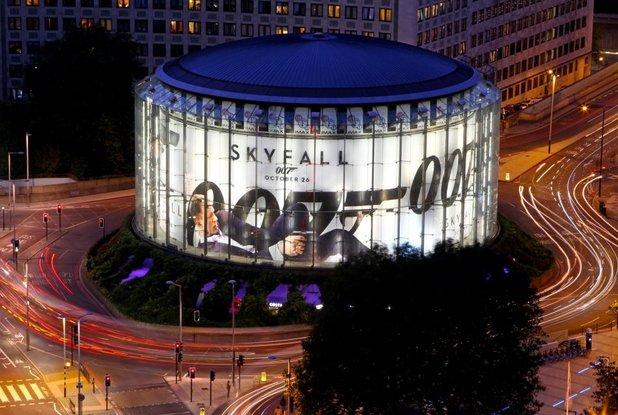 A Skyfall minden idők legnagyobb brit kasszasikere lett (Fotó: digitalspy.co.uk)