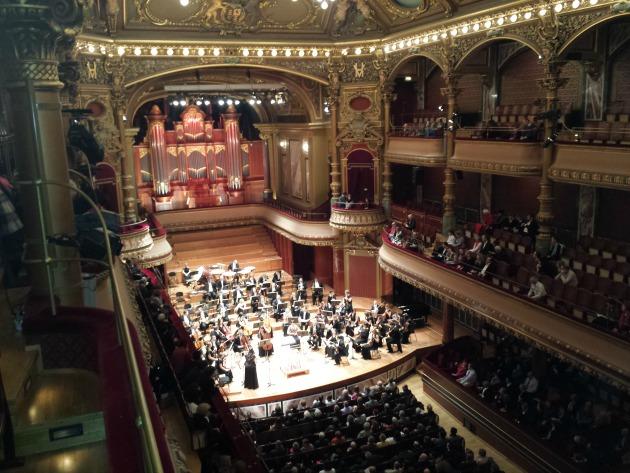 Pannon Filharmonikusok a genfi Victoria Hallban