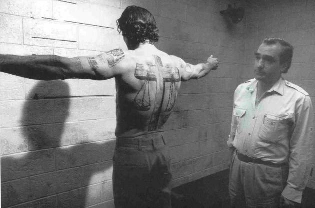 Scorsese A rettegés foka forgatásán (Fotó: podwits.com)
