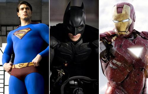 Superman, Batman, Ironman (Fotó: fanpop.com)