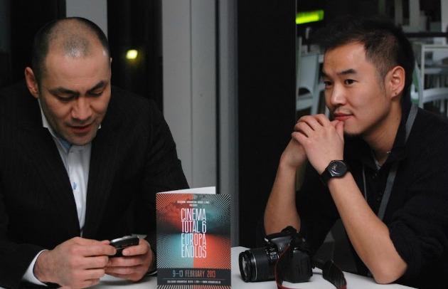 Két résztvevő a tavalyi Cinema Totalon (Fotó: cinematotal.eu)
