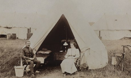 Arthur Harrington és felesége 1914-ben (fotó: National Army Museum)