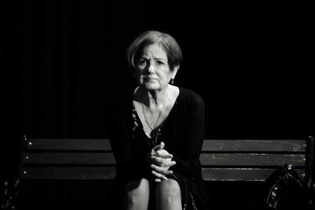 Vári Éva a Rose előadásán (Fotó: Talács Attila)