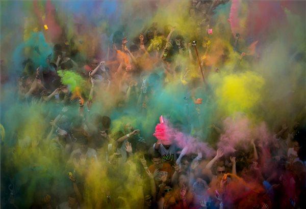 Mohai Balázs: Color party a Sziget fesztiválon