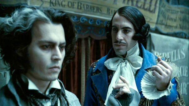Johnny Depp és Sacha Baron Cohen a Sweeney Toddban (Fotó: ign.com)