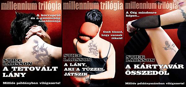 Stieg Larsson: Millenium trilógia (Fotó: origo.hu)
