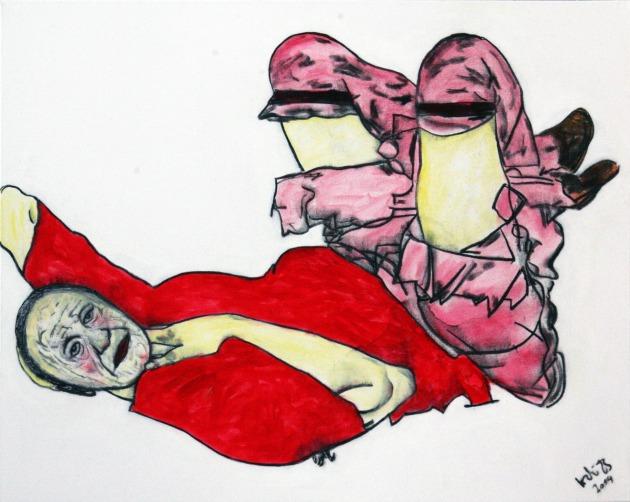 drMáriás: Kádár János Egon Schiele műtermében